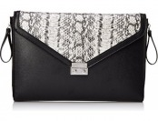 82% off BCBGeneration PVX408GN Clutch, Black Combo