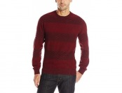 85% off Levi's Men's Kinder Rugby Crew Sweater, Sundried Tomato