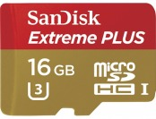 71% off Sandisk Extreme Plus 16GB microSDHC Memory Card
