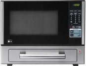 $80 off Lg 1.1 Cu. Ft. Mid-size Microwave - Stainless-steel