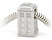 50% off Doctor Who Silver TARDIS Charm Bead