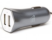 82% off LAX Dual USB 3.4A Fast Car Charger