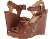 82% off Frye Alexa Cognac Smooth Full Grain High Heels