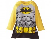 67% off Warner Brothers Little Boys' Batman Tee with Cape, 2T
