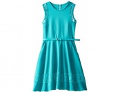 76% off Rare Editions Big Girls' Sleeveless Scuba Dress