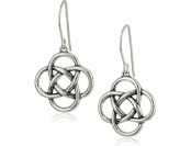 82% off Sterling Silver Celtic Knot Earrings