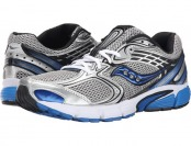 60% off Saucony Grid Tornado 6 Silver/Black/Royal Running Shoes