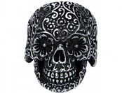 60% off Stainless Steel Dia de los Muertos Skull Ring
