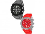 94% off Swiss Legend Commander Chronograph 2-Pack of Watches