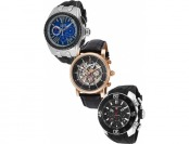 92% off Elini Barokas Genesis Vision Chrono 3-Pack Watch Set