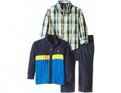 71% off Nautica Baby Boys' 3 Piece Sweater & Denim Pants Set