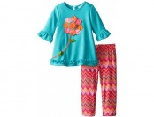 69% off Rare Editions Little Girls' Textured Knit Legging Set