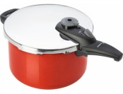 74% off Fagor 6 Quart Pressure Cooker Cayenne