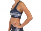 65% off Guy Harvey Women's Reversible Sports Bra, Brown