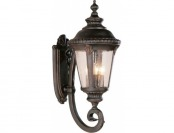 "51% off Outdoor Wall Mount Light: Carriage Light 29"" high in Rust (Red)"
