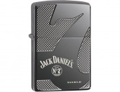 55% off Zippo Black Ice Armor Jack Daniel's Pocket Lighter