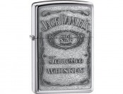 51% off Zippo Jack Daniel's Label Pewter Emblem Pocket Lighter
