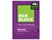 44% off H&R Block Tax Software Deluxe: Federal and State