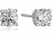 $700 off 14k White Gold Lab-Grown Diamond Stud Earrings (1/2 cttw)