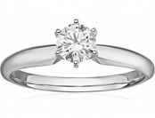 $1,140 off 14k Gold Lab-Grown 1/2ct Diamond Engagement Ring