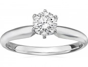 $2,051 off 14k Gold Lab-Grown Diamond 3/4ct Engagement Ring