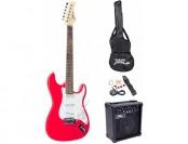 60% off Pyle-Pro PEGKT15R Beginner Electric Guitar Package