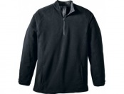 50% off Cabela's Men's Activewear Fleece 1/2-Zip Jacket - Black