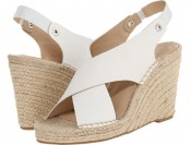 83% off DV by Dolce Vita Saundra (White) Women's Shoes