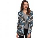 79% off Brigitte Bailey Chevron Print Cardigan Women's Sweater