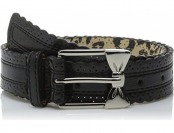 63% off Betsey Johnson Women's Scalloped Edge Belt w/ Bow Buckle