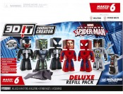 49% off Marvel Spider-man 3D Character Creator Deluxe Refill Pack