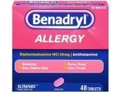 51% off Benadryl Allergy Ultratab Tablets, 48-Count