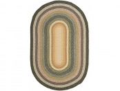 68% off Safavieh Braided Collection BRD308A Oval Area Rug, 4' x 6'