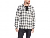 71% off Threads 4 Thought Sherpa Lined Shirt Jacket, White/Grey