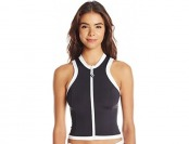 79% off Seafolly Women's Block Party Sleeveless Rash Vest