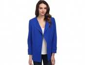 75% off Vince Camuto Women's Collarless Asymmetrical Zip Coat