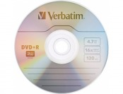 92% off Verbatim 4.7GB Disc DVD+R, 10-Disc Pack
