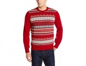 92% off Dockers Men's Fairisle Crew Sweater