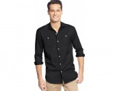 68% off Tommy Bahama Long-Sleeve Twill Shirt, 3 colors