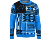 43% off Klew Men's Carolina Panthers Patches Ugly Sweater