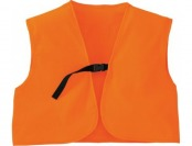 50% off Cabela's Men's Fleece Blaze Three-Quarter Vest - Blaze Orange