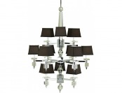 90% off Candice Olson Cluny 12 x 40 Watt Light Chandelier, Chrome