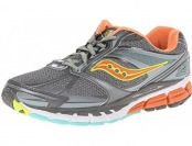 64% off Saucony Women's Guide 8 Running Shoe, Grey/Sunset/Citron