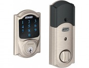 61% off Schlage Connect Camelot Touchscreen Deadbolt with Alarm