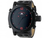 60% off U.S. Polo Assn. Classic Men's Watch with Black Leather Band