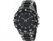 61% off U.S. Polo Assn. Sport Men's Black and Gunmetal-Tone Watch