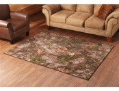 87% off CASTLECREEK True Timber Mixed Pine Area Rug