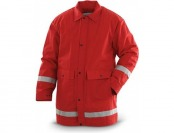 83% off Spiewak Red Reflective Parka Jacket, Waterproof