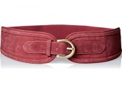 97% off elise m. Women's Vicky Structured Suede Waist Belt