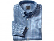67% off Traveler Point Collar Patterned Long Sleeve Sportshirt